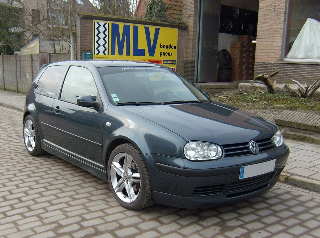 vw golf iv  tdi 130 match
