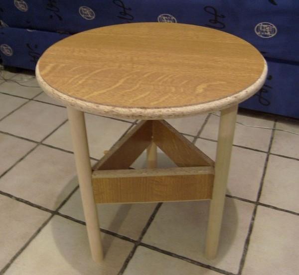 Blog de magicmanu :Aménagement de notre maison, Table basse avec bois de récup