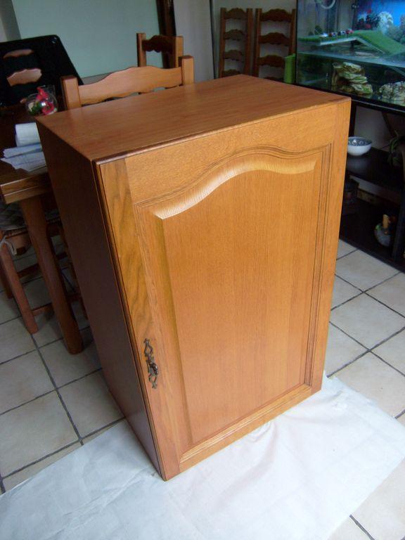Fabrication d un meuble de cuisine for Fabrication meuble cuisine