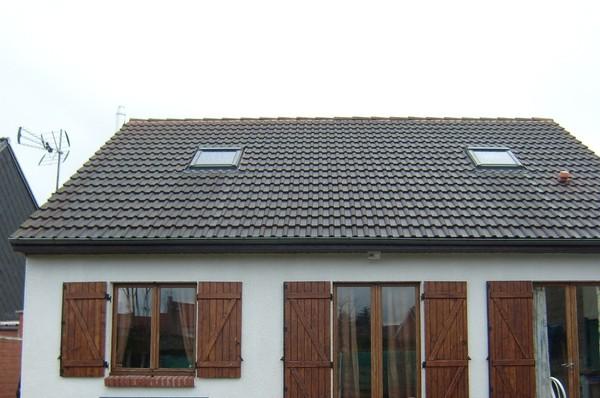 Blog de magicmanu :Aménagement de notre maison, Velux installés