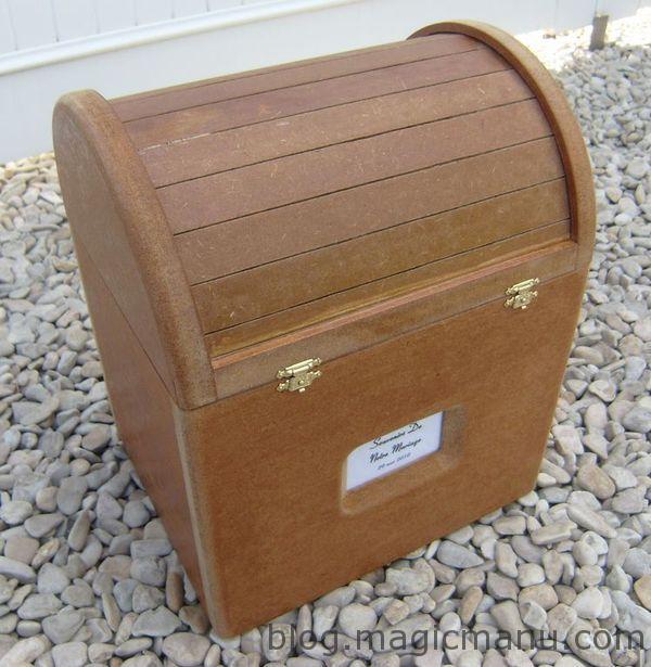 You are currently viewing Fabrication d'un coffre en bois, cadeau de mariage