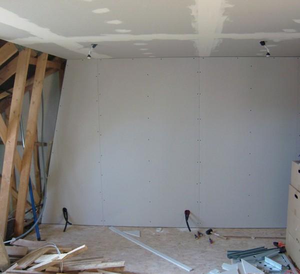 Blog de magicmanu :Aménagement de notre maison, Placo des pignons