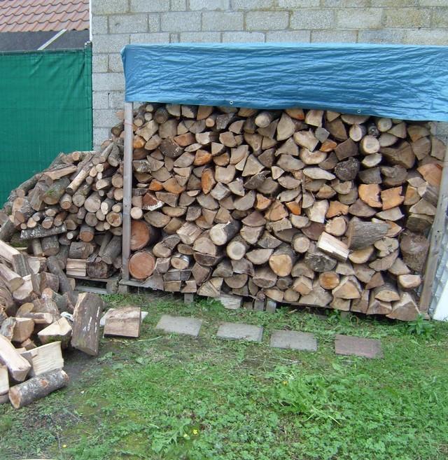 Blog de magicmanu :Aménagement de notre maison, Bois de chauffage 2010
