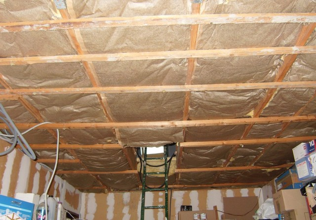 Dalle plafond neeva devis immediat travaux loiret for Isolation dalle garage