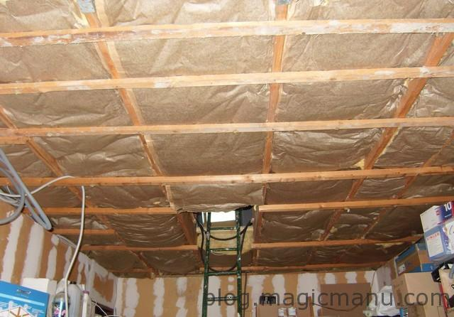You are currently viewing Isolation plafond garage