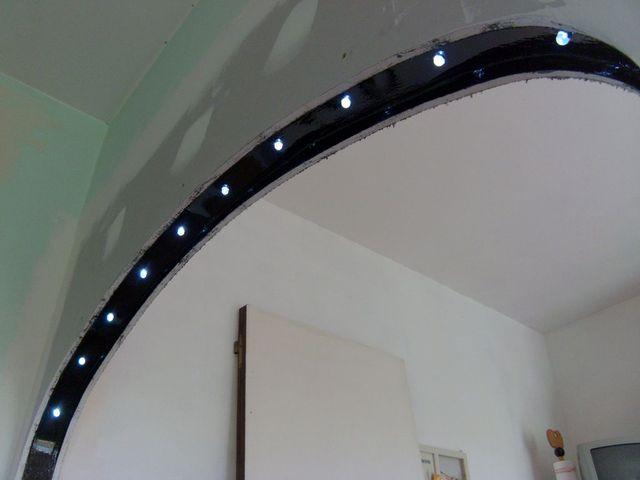 Blog de magicmanu : Aménagement de notre maison, Eclairage à LED du passe-plat