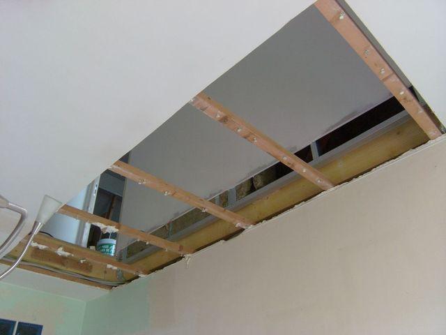 Blog de magicmanu :Aménagement de notre maison, Ouverture trémie escalier