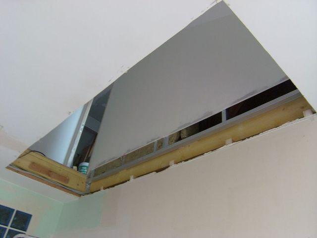 Blog de magicmanu : Aménagement de notre maison, Ouverture trémie escalier