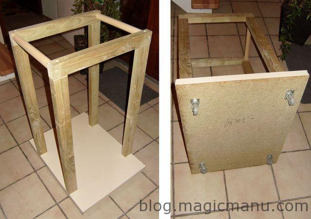 Blog de magicmanu : Aménagement de notre maison, Chariot à bûches