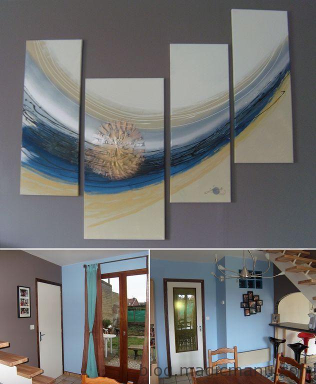 Blog de magicmanu : Aménagement de notre maison, Peinture Salon - Salle à manger