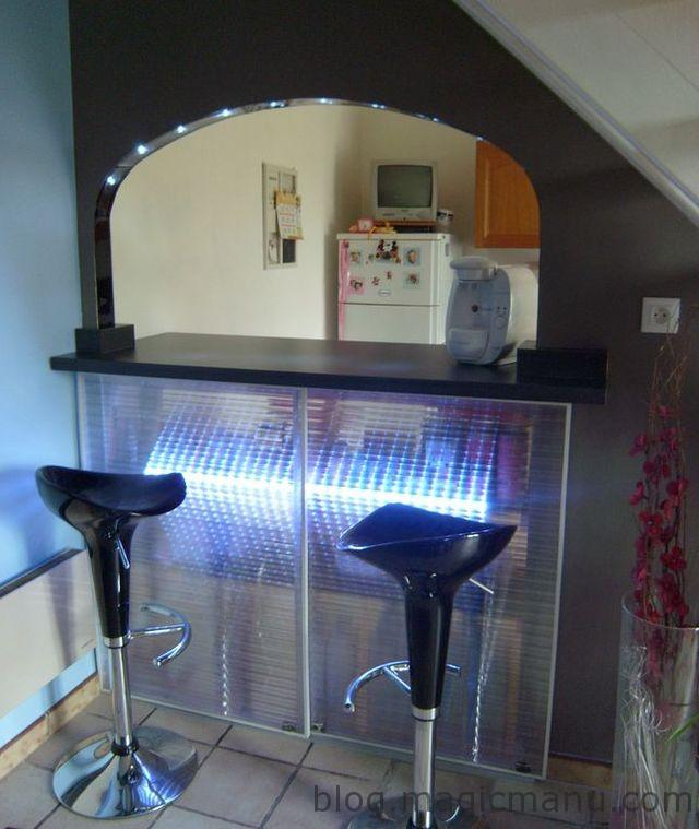 Blog de magicmanu :Aménagement de notre maison, Portes de bar lumineuses