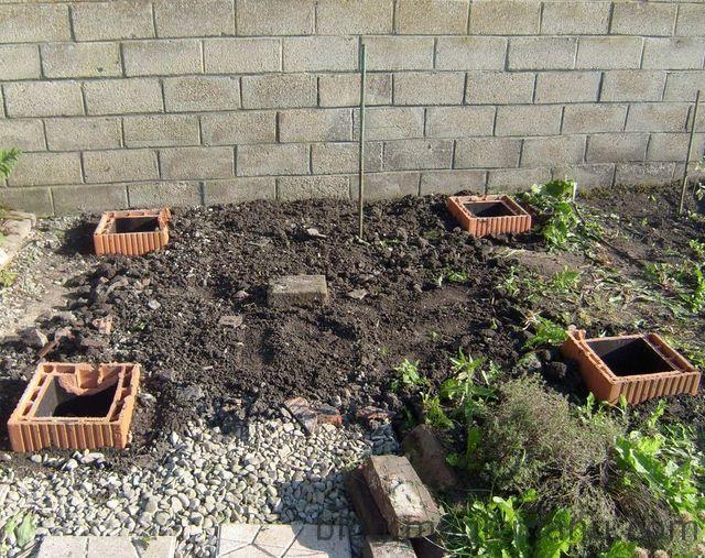 Abri de jardin la fixation au sol blog magicmanu - Fixation abri de jardin ...