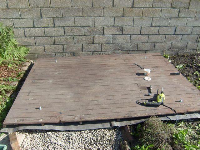 Blog de magicmanu : Aménagement de notre maison, Abri de jardin - Le montage