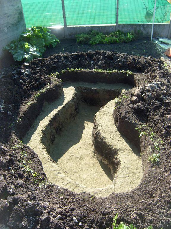 Blog de magicmanu : Aménagement de notre maison, Bassin de jardin - Le trou