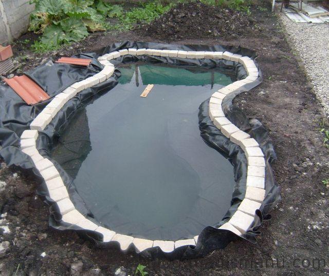 Blog de magicmanu :Aménagement de notre maison, Bassin de jardin - Les berges