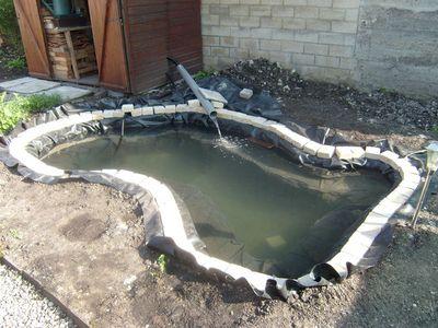Blog de magicmanu : Aménagement de notre maison, Bassin de jardin - La filtration
