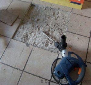 Réparer du carrelage
