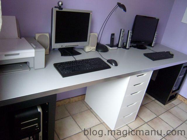 Blog de magicmanu :Aménagement de notre maison, Nouveau Bureau