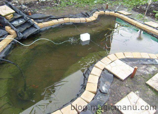 Blog de magicmanu :Aménagement de notre maison, Bassin de jardin - Antigel