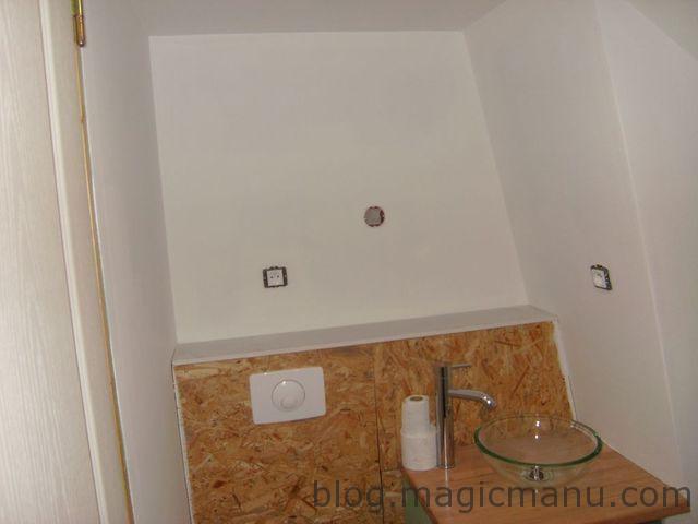 Sous couche salle de bain