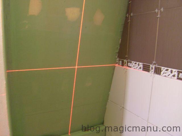 Blog de magicmanu : Aménagement de notre maison, Carrelage de la douche