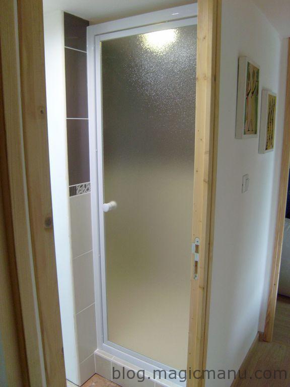 Blog de magicmanu : Aménagement de notre maison, Porte de douche