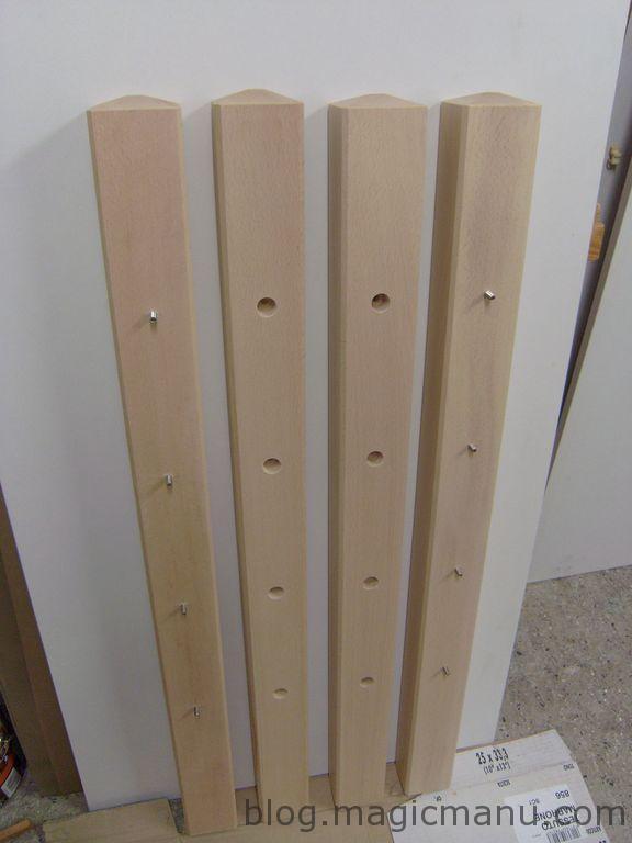 Fabriquer une rampe d escalier - Comment poser une rampe d escalier ...