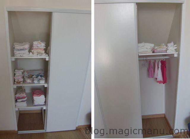 Blog de magicmanu : Aménagement de notre maison, Placard sur mesure