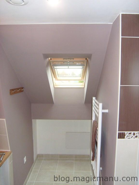 Blog de magicmanu : Aménagement de notre maison, Peinture Salle de Bain