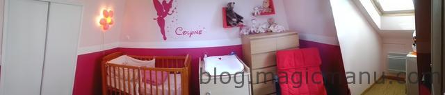 Blog de magicmanu : Aménagement de notre maison, Chambre de Colyne