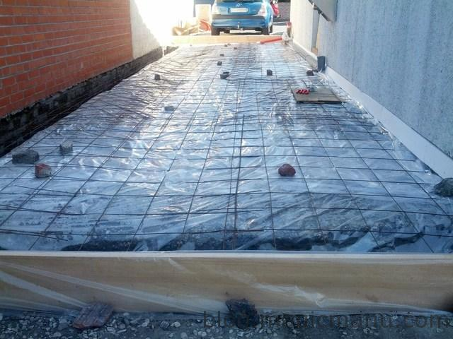 Garage pr paration de la dalle - Difference entre mortier et beton ...