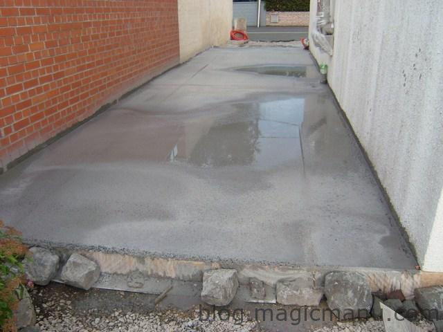 Blog magicmanu page 6 sur 42 am nagement de notre maison for Couler dalle beton garage