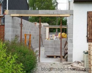 Garage : les linteaux