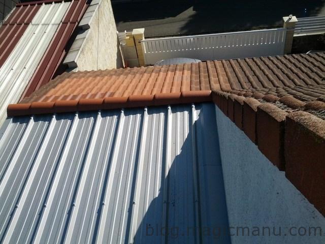 You are currently viewing Garage : la toiture en bac acier isolé