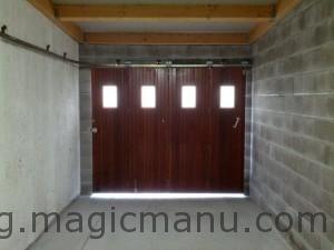 Porte coulissante interieur