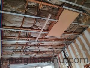 Rails plafond