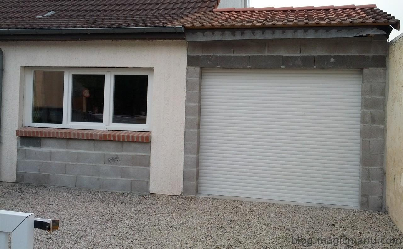 Blog magicmanu am nagement de notre maison for Constructeur de garage en parpaing