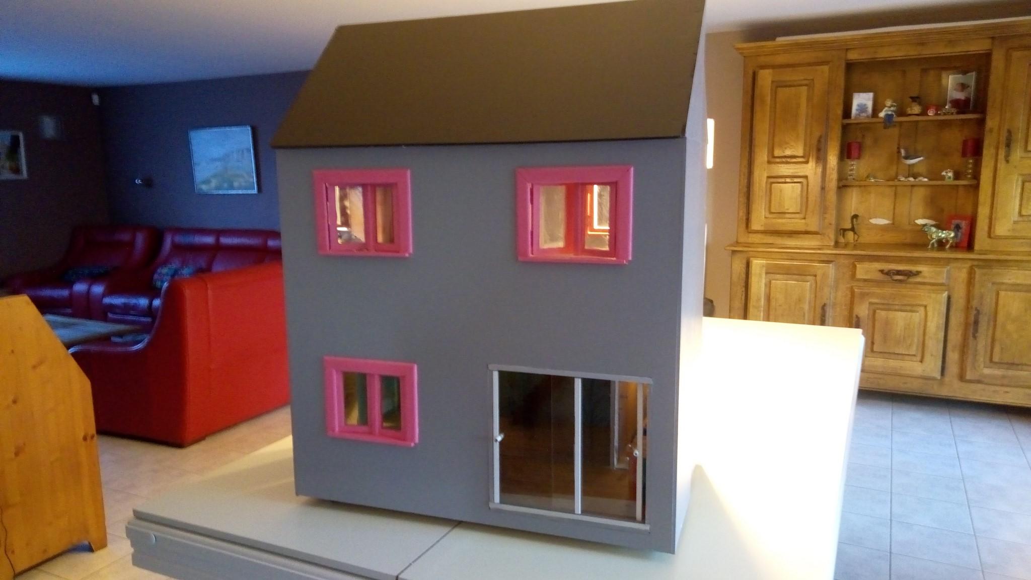 Maison De Poupee Barbie Par Francois Magicmanu