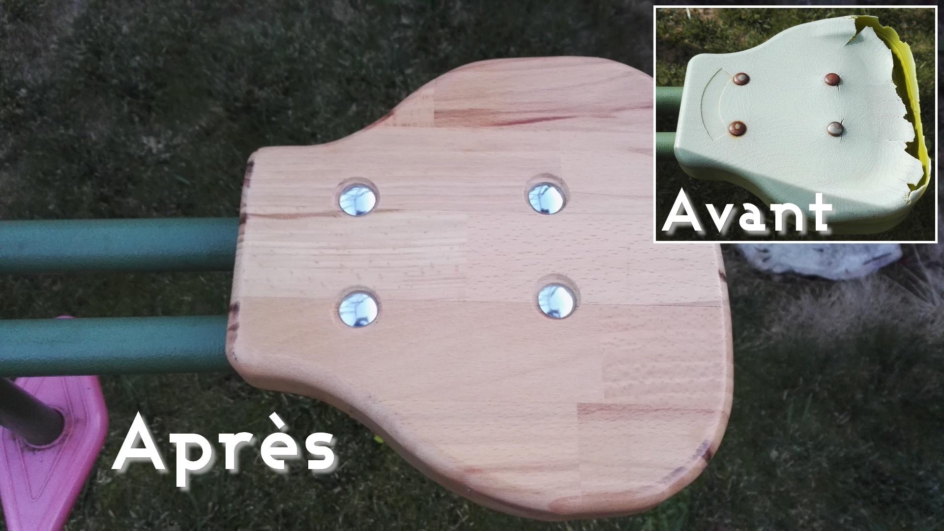 You are currently viewing [Mini Tuto] Fabriquer des sièges de balançoire vis à vis en bois