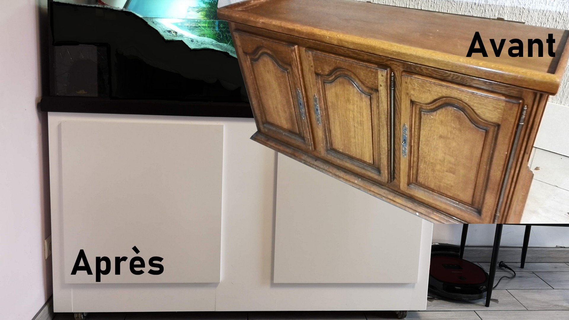 Aquarium pour tortue : Partie 1 le meuble