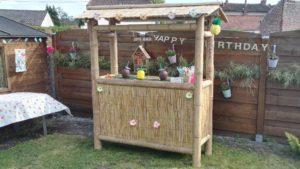 Fabriquer un Tiki Bar d'extérieur en bambou