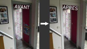 [Mini Tuto] Fabriquer un habillage de bâti de porte