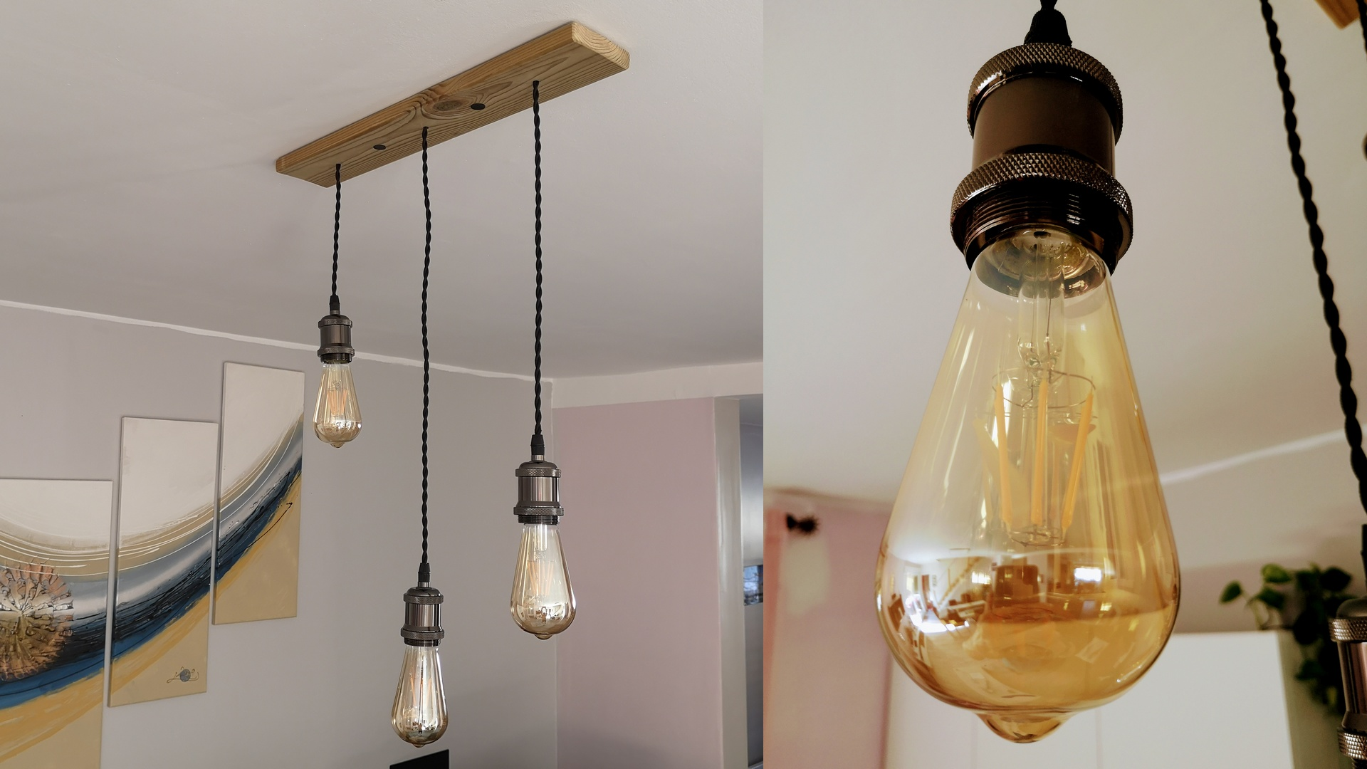 You are currently viewing [Mini Tuto] Fabriquer un lustre vintage Edison