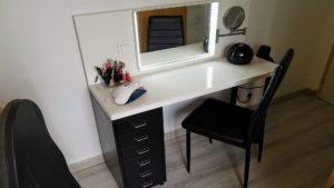 [Mini Tuto] Fabriquer une coiffeuse avec des éléments Ikea