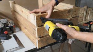 [Mini Tuto] Fabriquer des caisses en bois présentoir avec des palettes